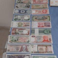 Billetes extranjeros: LOTE DE 20 BILLETES DE AMÉRICA DE SUR Y CENTRAL. Lote 195299742
