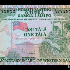 Billetes extranjeros: SAMOA 1 TALA 1980 PICK 19 SC UNC. Lote 195305145