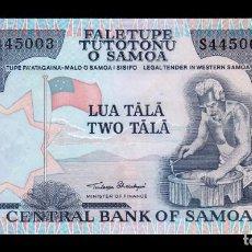 Billetes extranjeros: SAMOA 2 TALA 1985 PICK 25 SC UNC. Lote 195306098