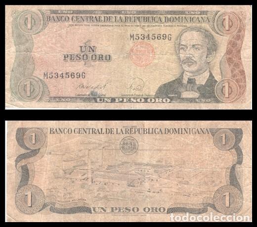 REPUBLICA DOMINICANA 1 PESO ORO 1988 PIK 126C BC (Numismática - Notafilia - Billetes Extranjeros)