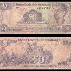 Billetes extranjeros: NICARAGUA 50 CORDOBAS 1984 (1985) PIK 140 BC. Lote 195336878