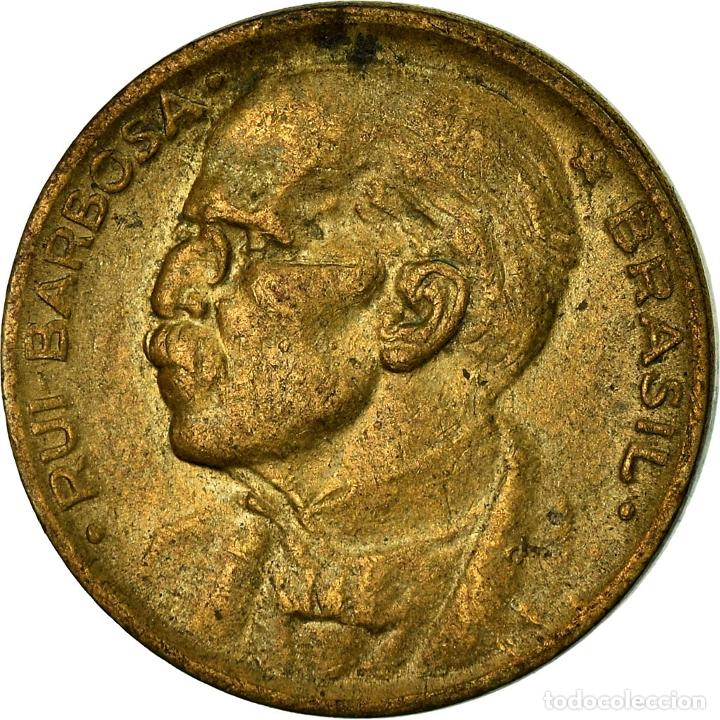 MONEDA, 20 CENTAVOS, 1950, BRASIL, MBC (Numismática - Notafilia - Billetes Extranjeros)