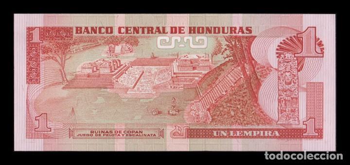 Billetes extranjeros: Honduras 1 Lempira 1989 Pick 68c SC UNC - Foto 2 - 195377283