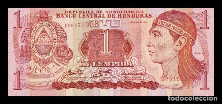HONDURAS 1 LEMPIRA 2006 PICK 84E SC UNC (Numismática - Notafilia - Billetes Extranjeros)