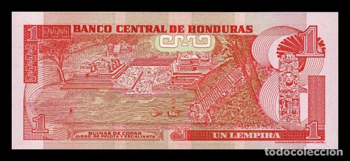Billetes extranjeros: Honduras 1 Lempira 2006 Pick 84e SC UNC - Foto 2 - 195378891