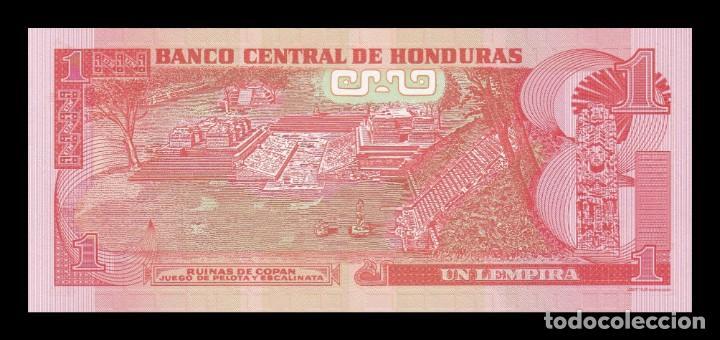 Billetes extranjeros: Honduras 1 Lempira 2010 Pick 89b SC UNC - Foto 2 - 195379568