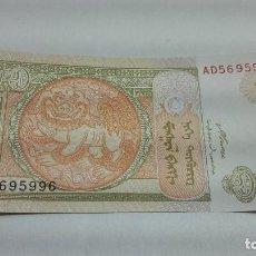 Billetes extranjeros: 273-BILLETE 1 TUGRIK AÑO 2008 DE MONGOLIA, ESTADO PLANCHA. Lote 195388847