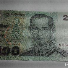 Billetes extranjeros: 340-BILLETE 20 BAHT DE TAILANDIA DESCONOZCO EL AÑO, ESTADO PLANCHA. Lote 195427702