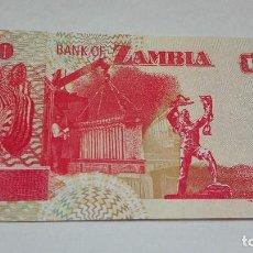 Billetes extranjeros: 405-BILLETE 50 KWACHA AÑO 1992 DE ZAMBIA, ESTADO PLANCHA. Lote 195451451