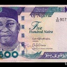 Billetes extranjeros: NIGERIA 500 NAIRA 2015 PICK 30N SC UNC. Lote 195496171