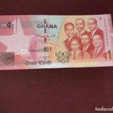 Billetes extranjeros: GHANA 1 CEDI 2010 SC. Lote 195498102