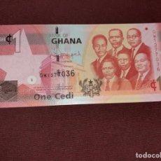 Billetes extranjeros: GHANA 1 CEDI 2015 SC. Lote 195498197