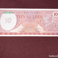 Billetes extranjeros: SURINAME 10 GULDEN 1982 SC.UNC. Lote 195510397