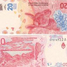 Billetes extranjeros: L415 BILLETE ARGENTINA 20 PESOS 2015 2018 SIN CIRCULAR. Lote 195550851