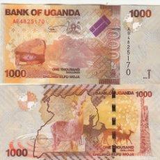 Billetes extranjeros: L186 BILLETE UGANDA 1000 SHILLINGS 2010 SIN CIRCULAR. Lote 195551247