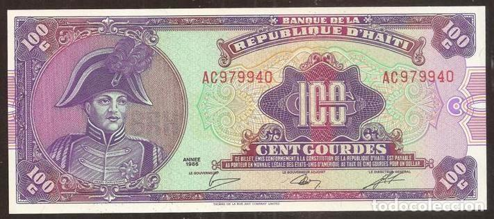 HAITI. 100 GOURDES 1986. PICK 250. S/C. (Numismática - Notafilia - Billetes Internacionales)