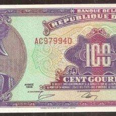 Billetes extranjeros: HAITI. 100 GOURDES 1986. PICK 250. S/C.. Lote 195914237