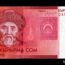 Banconote internazionali: KIRGUISTAN KYRGYZSTAN 20 SOM 2016 PICK 24B SC UNC. Lote 243544110