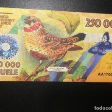 Billetes extranjeros: BANCO DE ELOBEY GRANDE 2017. 250.000 EKUELE (BILLETE DE FANTASÍA). Lote 197478130