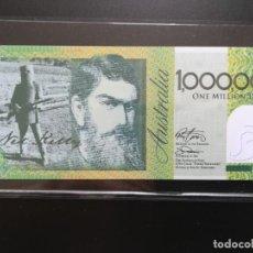 Billetes extranjeros: AUSTRALIA, NED KELLY.. 1.000.000 DOLARES. (BILLETE DE FANTASÍA). Lote 197910275