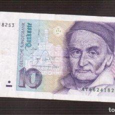 Billetes extranjeros: BILLETES DE EUROPA ALEMANIA CIRCULADOS LOS QUE VES EUROPA. Lote 197980475