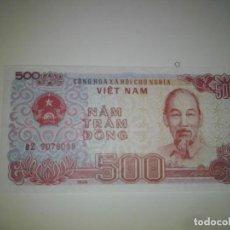 Billetes extranjeros: 500 DONG VIETNAM 1988,SC.. Lote 198363065