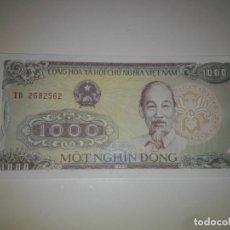 Billetes extranjeros: VIETNAM 1000 DONG 1988 SC. Lote 198363252