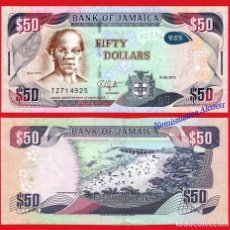 Billetes extranjeros: JAMAICA 50 DOLARES 2013 HIBRIDO PICK 94A SC. Lote 199073821