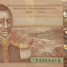 Billetes extranjeros: HAITI 50 GOURDES P274D 2013 NUEVO UNC SC. Lote 199074792