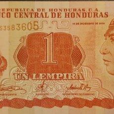 Billetes extranjeros: HONDURAS 1 LEMPIRA P84A 20008 UNC SC NUEVO. Lote 199077551