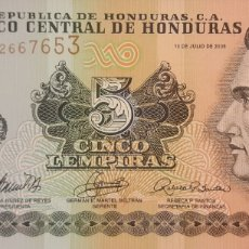 Billetes extranjeros: HONDURAS 5 LEMPIRAS P91A 2006 UNC SC NUEVO. Lote 199077668