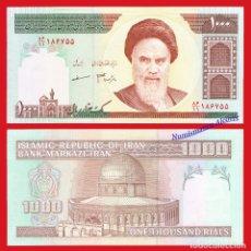 Billetes extranjeros: IRAN 1000 RIALS 2009 AYATOLLAH KHOMEINI PICK 143F SIN CIRCULAR. Lote 237299855