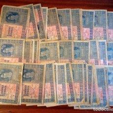 Billetes extranjeros: LOTE DE 76 BILLETES DE 1000 CORONAS. ENERO DE 1922. UNGARISCHE BANK. Lote 199695715