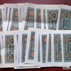 Billetes extranjeros: LOTE DE 37 BILLETES DE 100 MARCOS (ALEMANIA). REICHSBANKNOTE (RBD). BERLIN, NOVIEMBRE DE 1920 . Lote 199701125