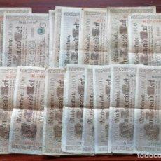 Billetes extranjeros: LOTE DE 24 BILLETES DE 1000 MARCOS (ALEMANIA). REICHSBANKNOTE (RBD). BERLIN, ABRIL DE 1910. Lote 199703783