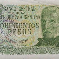 Billetes extranjeros: ARGENTINA 500 PESOS 1974 S/C. Lote 199856783