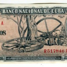 Billetes extranjeros: CUBA 10 PESOS CARLOS MANUEL DE CESPEDES CON LA FIRMA DEL CHE GUEVARA S/C PLANCHA. Lote 200867331
