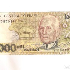 Billetes extranjeros: BILLETE DE 1.000 CRUZEIROS DE BRASIL DE 1990. EBC. WORLD PAPER MONEY-231B. (BE685). Lote 201194137
