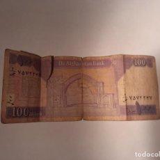 Billetes extranjeros: BILLETE DE 100 AFGANIS.. Lote 201227325