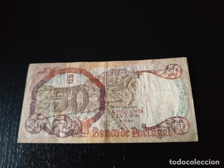Billetes extranjeros: 50 Escudos. Portugal. 1964 - Foto 2 - 201279630