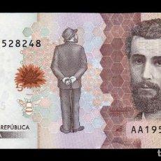 Banconote internazionali: COLOMBIA 5000 PESOS 2015 PICK 459A SC UNC. Lote 291443803