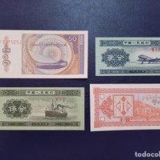 Notas Internacionais: LOTE 4 BILLETES TODOS SC LOS DE LA FOTO. Lote 202307760