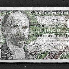 Billetes extranjeros: MÉJICO,QUINIENTOS PESOS,CIRCULADO,BIEN CONSERVADO,1981,SERIE B. Lote 210821880