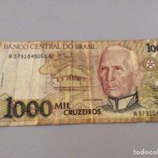 Billetes extranjeros: 1000 CRUZEIROS. Lote 203148440