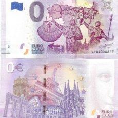 Notas Internacionais: BILLETE DE 0€ CAMINO DE SANTIAGO (2019) SC. Lote 204266573