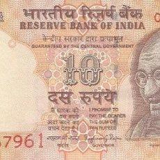 Billetes extranjeros: BILLETE DE INDIA 10 RUPIAS 2016 SC. Lote 204271357