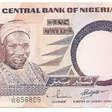 Notas Internacionais: BILLETE DE NIGERIA 5 NAIRA DE 2002 SC. Lote 204464111