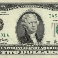 Billetes extranjeros: ESTADOS UNIDOS - UNITED STATES OF AMERICA - 2 DOLLARS - 2003 - PICK 516 - C - PHILADELPHIA PA. Lote 205020785