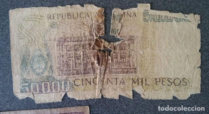 Billetes extranjeros: Lote billetes Inglaterra Republica Dominicana Argentina Paraguay Suecia Indonesia España Guatemala - Foto 10 - 205036525