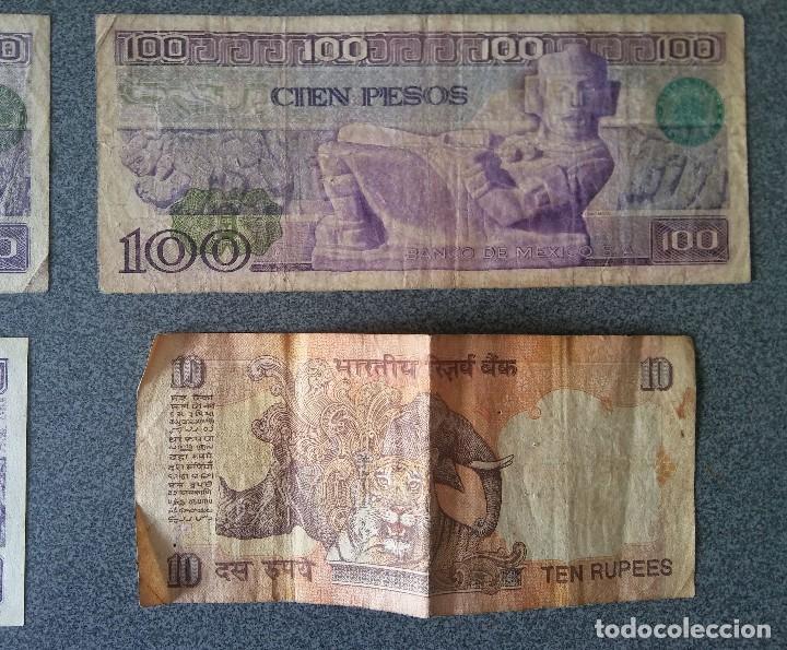 Billetes extranjeros: Lote billetes Inglaterra Republica Dominicana Argentina Paraguay Suecia Indonesia España Guatemala - Foto 12 - 205036525